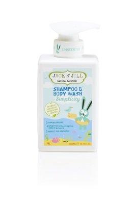 Simplicity Shampoo & Bodywash-Jack N Jill Kids