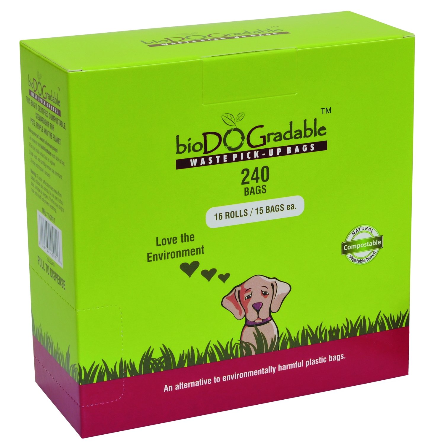 BioDOGradable Dog Bags 240