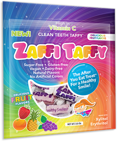 ZAFFI� TAFFY VARIETY 14pc FRUIT