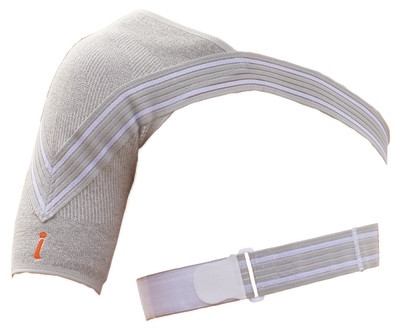 Shoulder recovery brace with Germanium