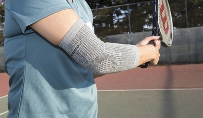 Arm/elbow recovery brace with Germanium G701b