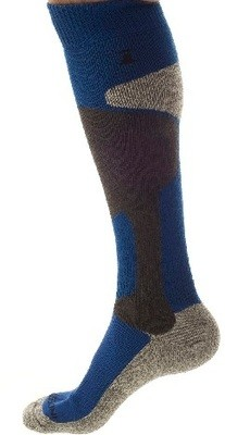 Winter Socks Blue,  7 - 9.5 M,  8 - 10.5 W