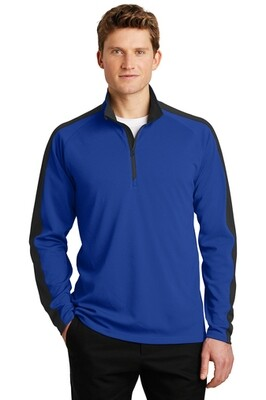Adult Colorblock 1/4-Zip Pullover