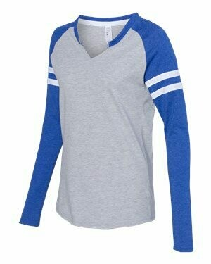 Women's Jersey Mash Up Long Sleeve T-Shirt