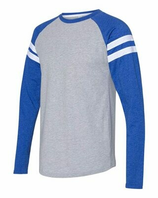 Adult Jersey Mash Up Long Sleeve T-Shirt