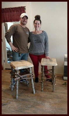 BUILD A RUSTIC TABLE