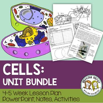 Cells Organelles & Processes - PowerPoint & Handouts Unit