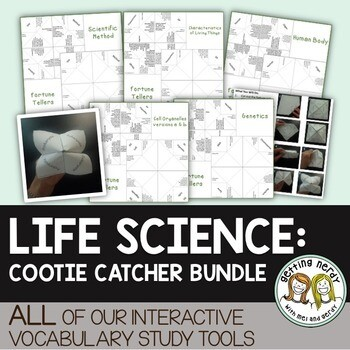 Science Cootie Catcher Bundle