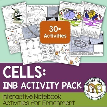 Science Interactive Notebook - Cells Organelles & Processes