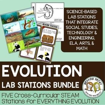 Evolution Bundle - STEAM Science Centers / Lab Stations
