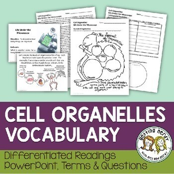 Cell Organelles Vocabulary Lesson