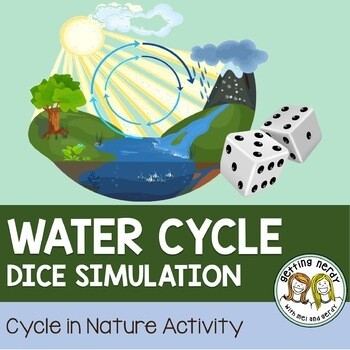 Ecology - Water Cycle Dice Simulation Game