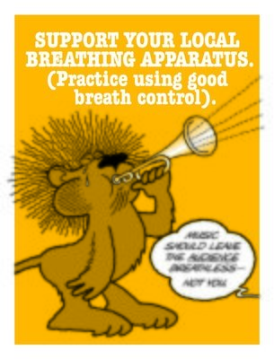 Use Good Breath Control