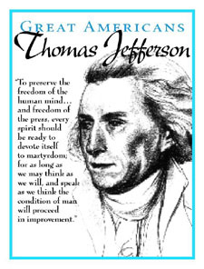 Thomas Jefferson - Freedom of Thought & Speech