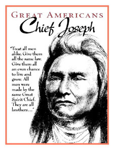 Chief Joseph - The Golden Rule