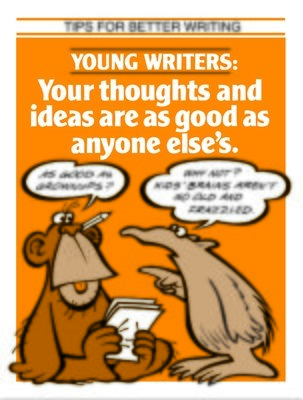 Young Writers Thoughts Are As Good As Anyone Else's