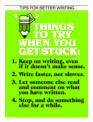 Things To Try When You Get Stuck
