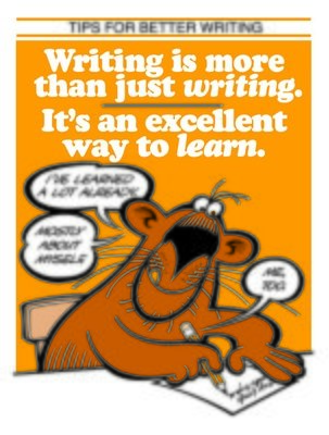 Writing Is An Excellent Way To Learn