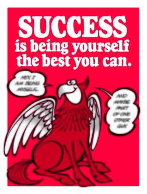 Success is Being Yourself