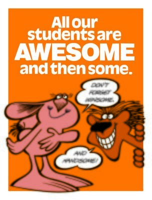 All our students are AWESOME..