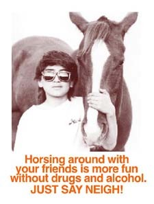 Horsing around with ..