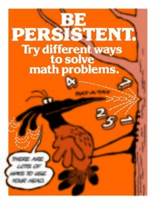 Be Persistent In Solving Math Problems