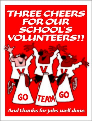 Cheers for Our Volunteers!