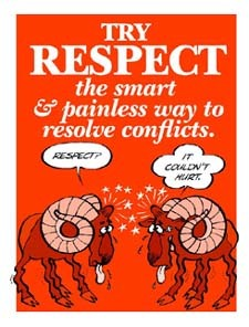 Try Respect To Solve Conflicts
