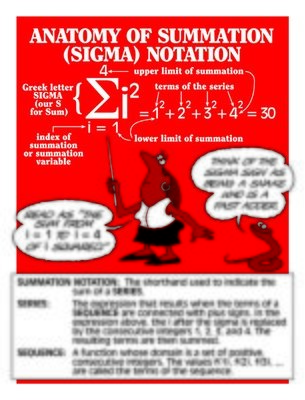 Sigma Notation/ Series/ Sequence