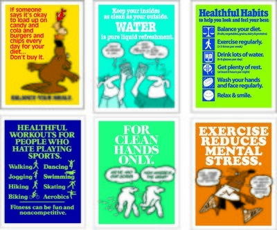 Healthful Habits Poster Series (6)