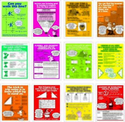 Math Builders Poster Set (12)