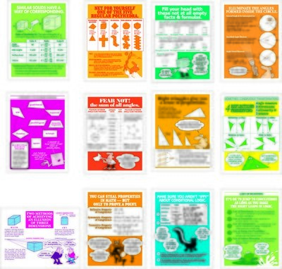 Geometry Revisited Posters Set (12)