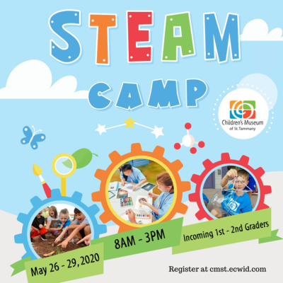 STEAM Camp for Incoming 1st-2nd Graders