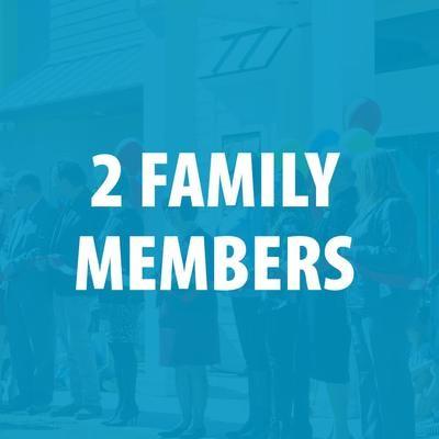 Membership - 2 Family Members