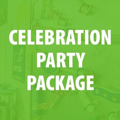Celebration Party Package - 50% Deposit
