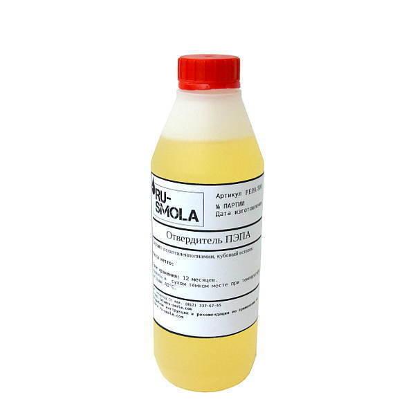 PEPA hardener, 500 gramms (for 5 kg of resin)