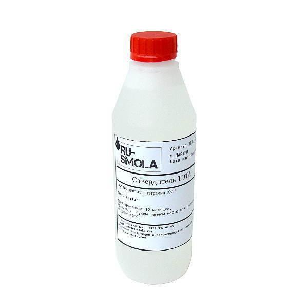 TETA hardener, 1000 gramms (for 10 kg of resin)