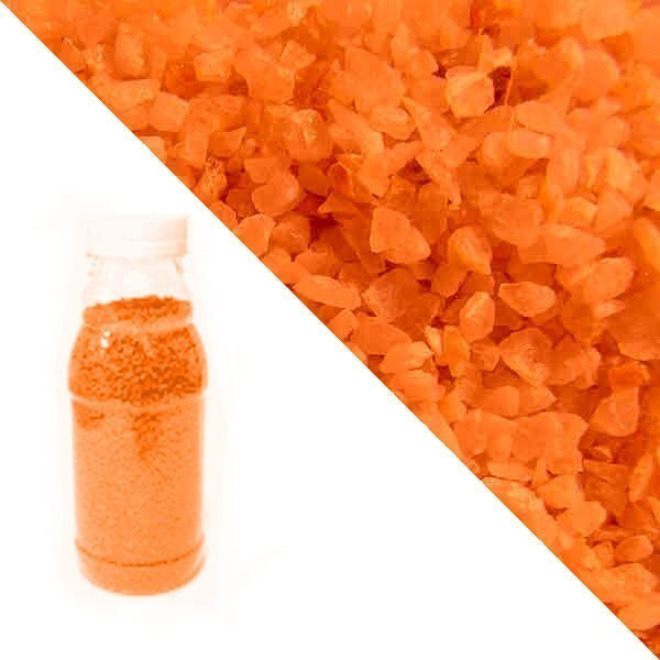 Orange quartz crumb RAL 2004 (pure orange)
