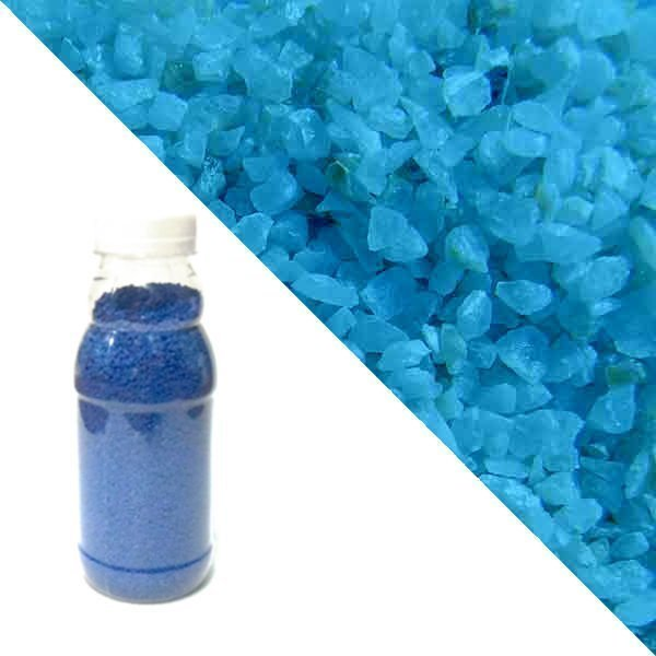 Blue quartz crumb RAL 5015 (sky blue)