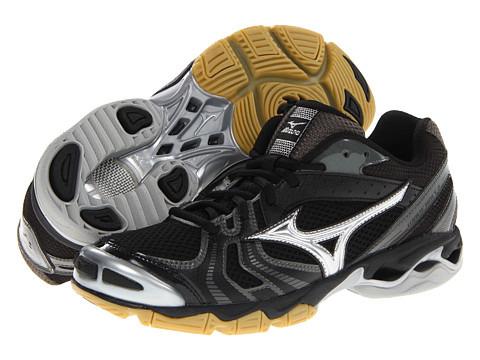 02804a68a2904 Mizuno- Wave Bolt 2 Black/Silver