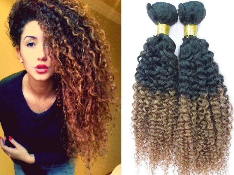 Brazilian Deep Curly Hair Bundles, Remy Virgin, 8A+