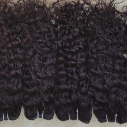 Brazilian Deep Curly Hair Bundles, Remy Virgin, 8A+ 00712