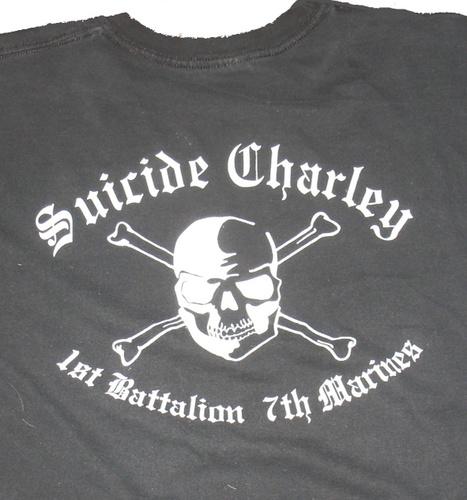 Suicide Charley Short Sleeve T-Shirt Medium (Black) 00001