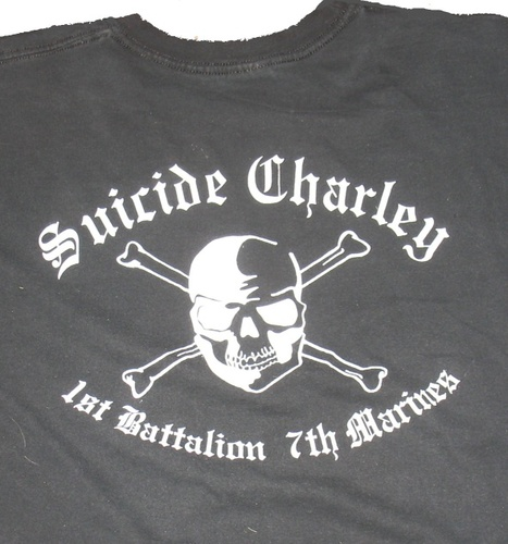 Suicide Charley Short Sleeve T-Shirt X-Large (Black) 00003