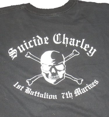 Suicide Charley Long Sleeve T-Shirt Medium (Black)