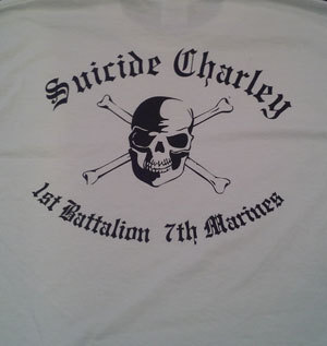 Suicide Charley Long Sleeve T-Shirt X-Large (White)