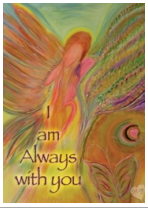I am always with you magnet