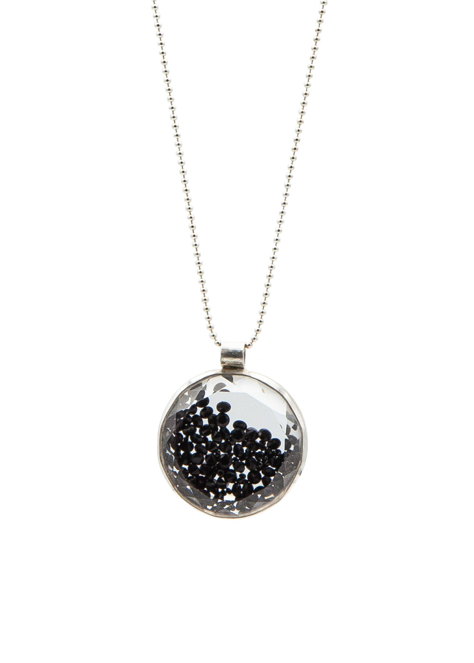 Black Shake Necklace