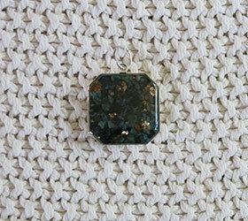 Biomagnetic Research Crystal Catalyst Energy Harmonizer Pendant® - Square Shape BRI-027
