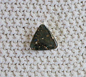 Biomagnetic Research Crystal Catalyst Energy Harmonizer Pendant® - Triangle Shape BRI-030
